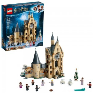 LEGO Harry Potter and The Goblet of Fire Hogwarts Clock Tower Castle Playset with Minifigures 75948 - Sale