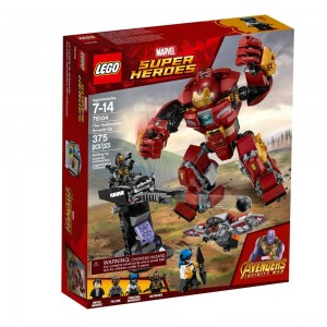 LEGO Super Heroes Marvel Avengers Movie The Hulkbuster Smash-Up 76104 - Sale