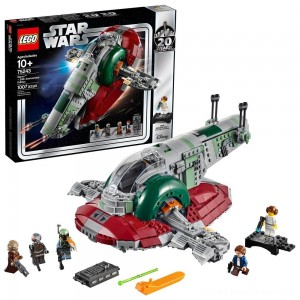 LEGO Star Wars Slave l – 20th Anniversary Collector Edition Collectible Model 75243 Building Kit - Sale