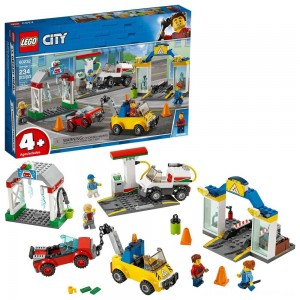 LEGO City Garage Center 60232 Building Kit for Kids 4+ with Toy Vehicle 234pc - Sale